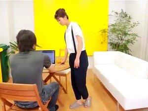 Best Japanese girl Nozomi Aso in Crazy Handjobs, Cunnilingus JAV video