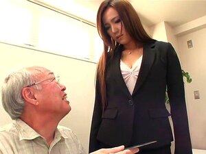 Exotic Japanese slut Marina Aoyama in Best couple, stockings JAV scene