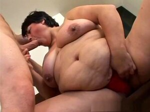 Horny pornstar in crazy facial, mature xxx clip, Zsizsi is a very BBW, who you'll see here, grabbing her husband's buddy's crotch, because, her hubby told her if she can get his dick hard, she can give him a blowjob and let him fuck her for a facial cumshot. Soon, you'll find her letting her giant tits flop around, while holding this guy's nuts and sucking his rod, before he screws her and cums on her face!