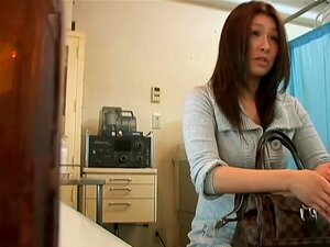 Asian slut fucked hard in her vagina by the gynecologist, Koto is a doctor whose medical fantasies were fulfilled when his asian patient, Sariko asked him to give her pussy a nice medicine. In this porn video with cunnilingus scenes the slut climaxes hard.
