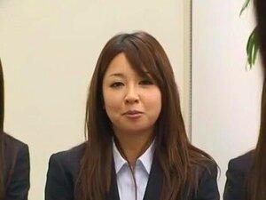 บ้าเจี๊ยบญี่ปุ่น Ryo Asaka, Ai ท่า Aoi Buruma ในฉาก Office JAV มือสมัครเล่นแปลกใหม่