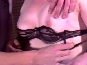 Retro Granny Anal. Granny in stockings gets her tight ass fucked