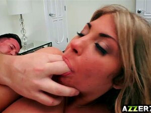 Blonde babe Kayla Kayden hot hardcore fuck. Hot blonde babe Kayla Kayden fucks with a hot stud She likes to suck his giant dick and loves fucking deep in her tight pussy too Watch her as she got pounded hard in different positions and swallowed all a huge load of jizz from a giant dick