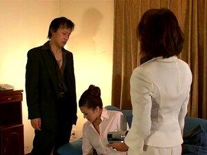 Misaki Shiraishi in Anal Female President part 1.3,