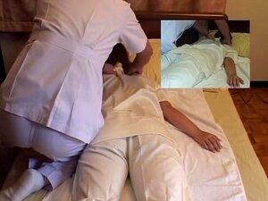 Lady from Japan surely loves getting massaged on camera, Cute Jap babe with a nice hairy twat gets fingered pretty hard by her kinky masseur in this hidden camera massage movie and it looks more than pleasing to the eye. She was also quite happy with it.