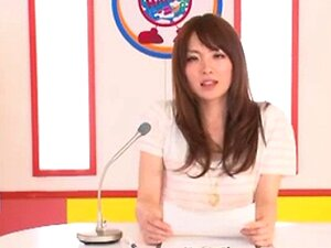 Newscaster ญี่ปุ่น