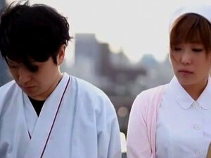 ญี่ปุ่นยอดเยี่ยมด้งโฮชิ Yuna ในวิดีโอ POV JAV พยาบาลเงี่ยน