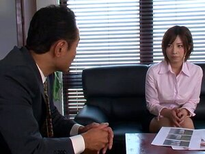 Hot milf teacher Saki Okuda gets hard doggy style fucking, Saki Okuda naughty Asian milf is also a horny teacher! She gets some bondage in and has her pussy teased with sex toys while she is unable to escape his hard cock. She gets loads of cum on her face, and a hard rear fucking while he slams her pussy with his hard boner!