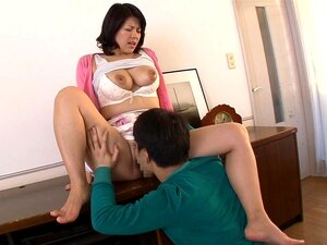 Nozomi Sasayama in Mom Cleans The House An His Dick - MilfsInJapan,