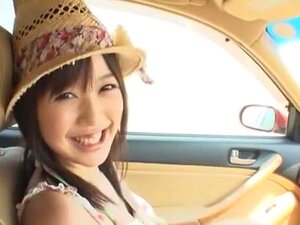 Exotic Japanese chick Tsukasa Aoi in Incredible Outdoor, Girlfriend JAV video