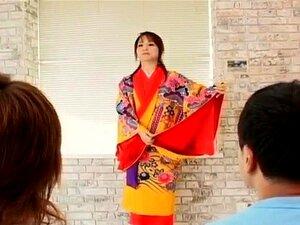 Miina is undressed of kimono and well fucked, Miina is undressed of kimono and well fucked